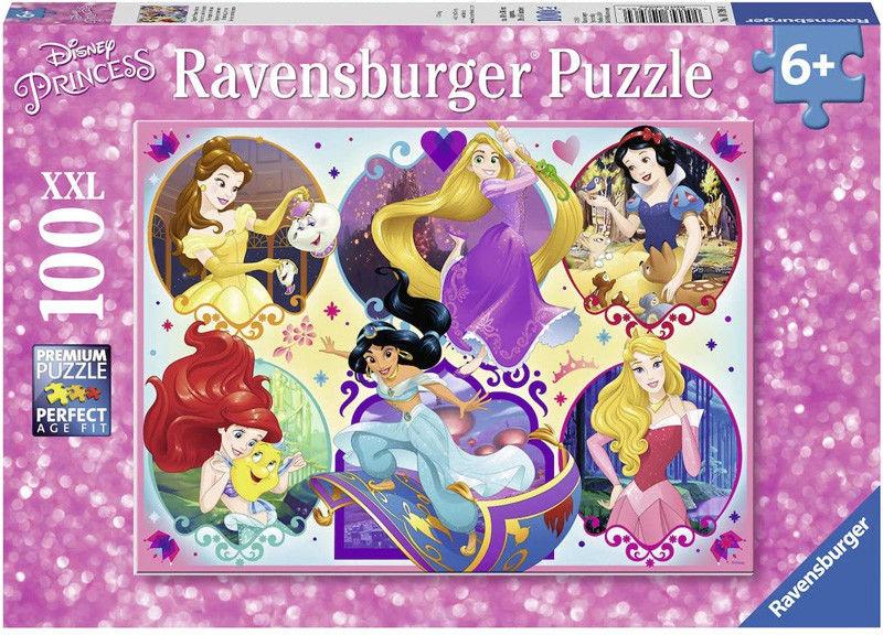 Ravensburger - Puzzle Księżniczki Disneya Bądź silny 100 elem. 107964