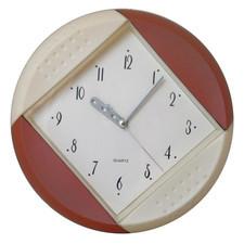 Zegar ścienny kolorowy koło
