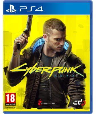 Gra PS4 Cyberpunk 2077 + Steelbook