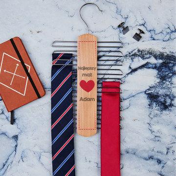 Najlepszy mąż - Wieszak na krawaty