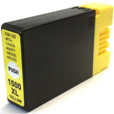 Tusz Zamiennik PGI-1500 Y do Canon (9195B001) (Żółty) - DARMOWA DOSTAWA w 24h