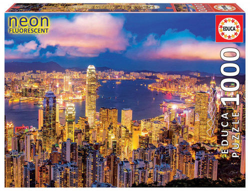 Puzzle Educa 1000 Hong Kong Skyline