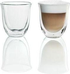 DeLonghi 5513214601 5513284161 Zestaw szklanek do cappuccino 2 szt szklanki