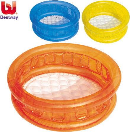 BestWay - Basen brodzik dla dzieci Kiddie Pomarańczowy 51112