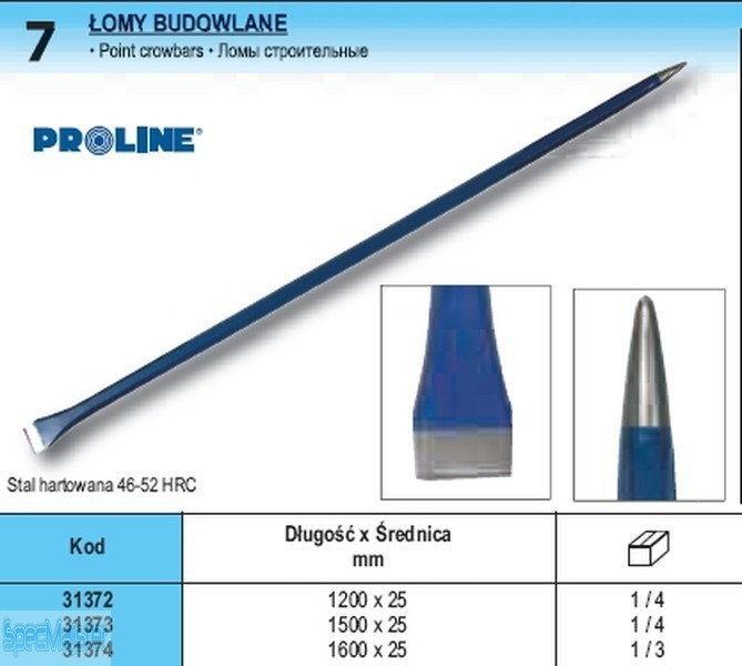 PROLINE Łom Budowlany 1200 mm 31372