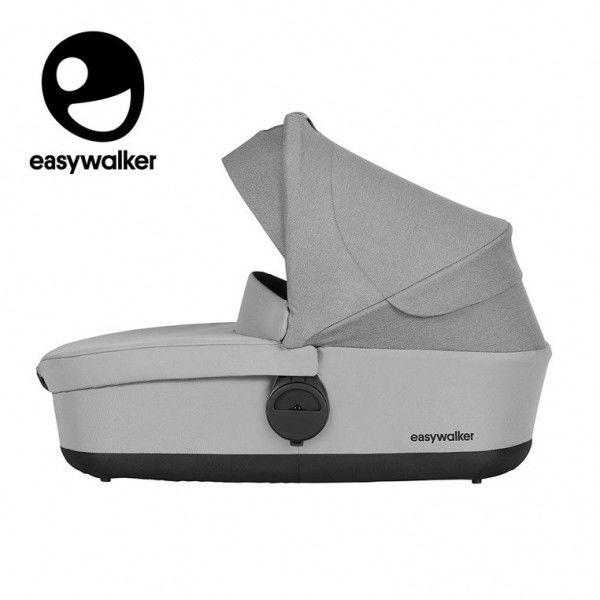 Easywalker Harvey Gondola do Wózka Stone Grey (zawiera Osłonkę Przeciwdeszczową)