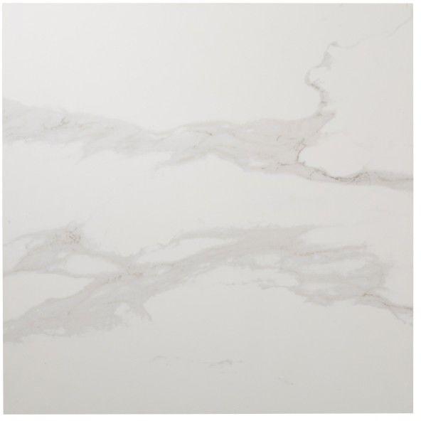 Płytka podłogowa Ultimate Marble Colours 59,5 x 59,5 cm white/grey polerowana 1,06 m2