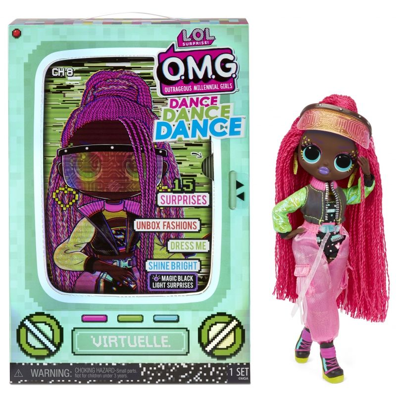 LOL Surprise OMG Dance Doll Lalka Virtuelle LK