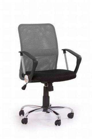 Fotel biurowy TONY szary/czarny  Kupuj w Sprawdzonych sklepach
