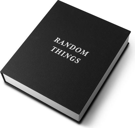 Pudełko do przechowywania random things czarne