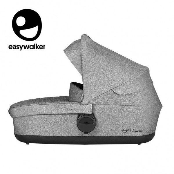Mini by Easywalker Stroller Gondola do Wózka Soho Grey (zawiera Osłonkę Przeciwdeszczową)