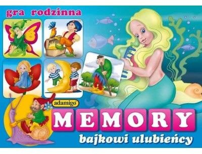 Gra Memory Bajkowi ulubieńcy