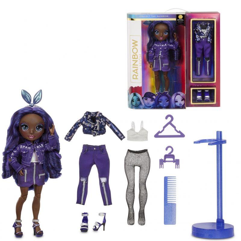 MGA Rainbow High Fashion Doll - Indigo - Krystal Bailey LK
