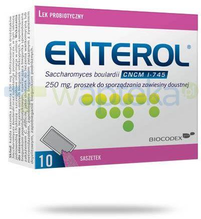 Enterol 250 mg 10 saszetek