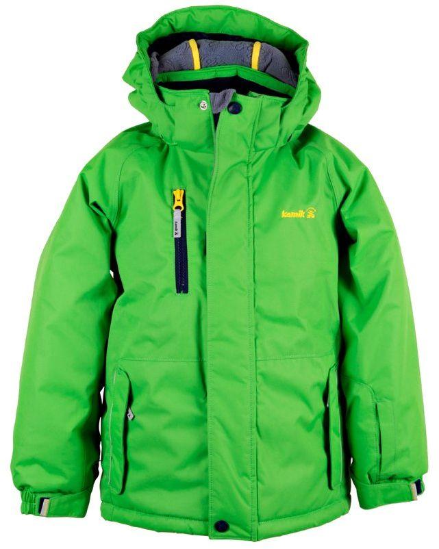 Kamik chłopięca kurtka dziecięca Hunter zielony c green 92