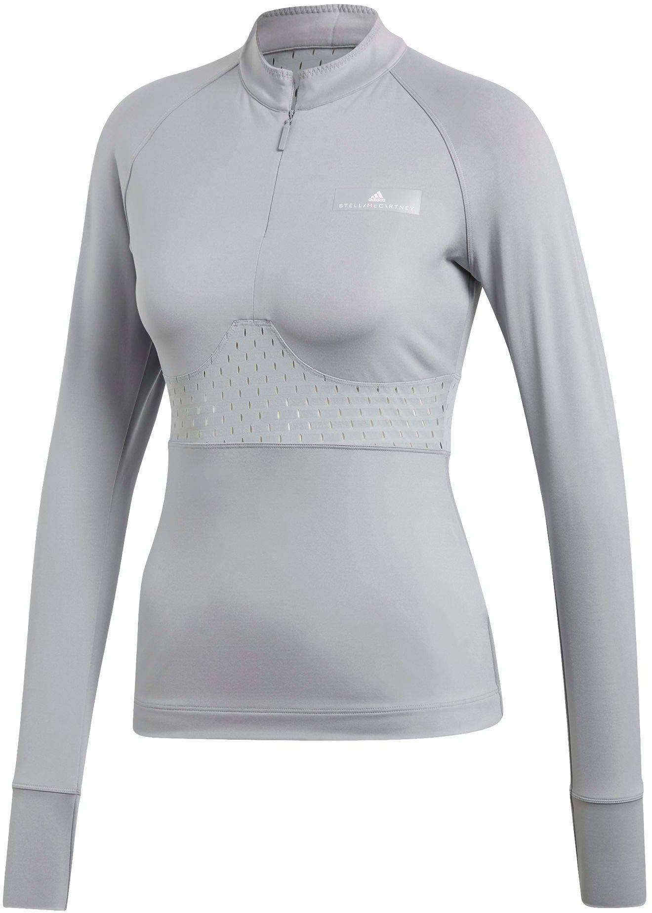 adidas Damska koszulka Stella Mccartney Ls szary Midgre L