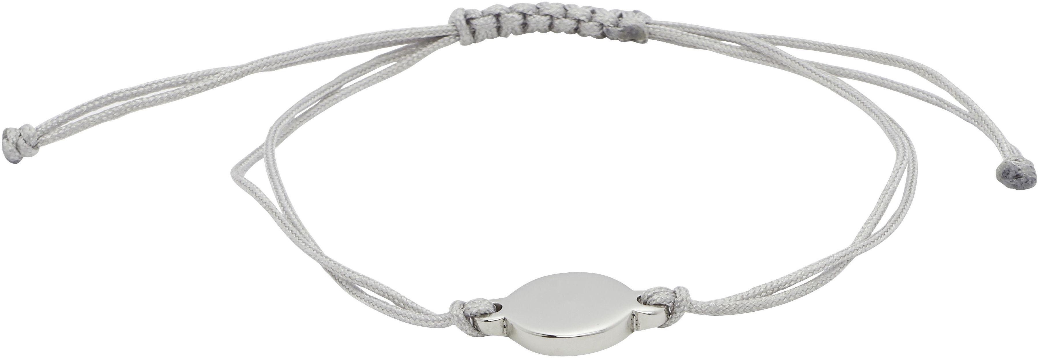 Bransoletka magnetyczna 2756-1 czarny tekstylny sznurek