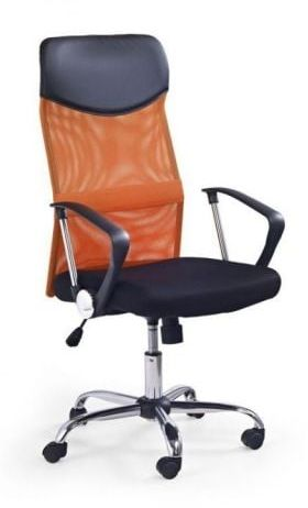 Fotel biurowy VIRE pomarańczowy  Kupuj w Sprawdzonych sklepach