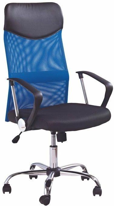 Fotel biurowy VIRE niebieski  Kupuj w Sprawdzonych sklepach