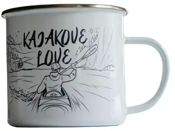 Kubek emaliowany - Kajakove Love - TravelSet
