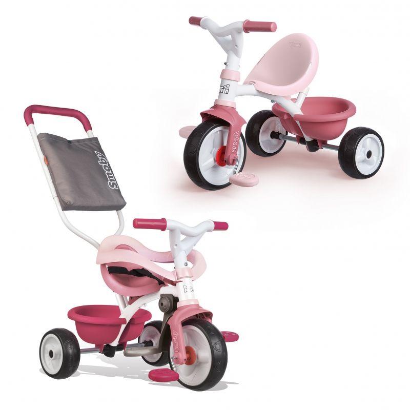 SMOBY Rowerek Trójkołowy Be Move Komfort Różowy LK