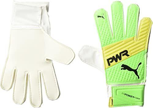 Puma Rękawice bramkarskie evoPower Grip 4.3, unisex  dla dorosłych, Green Gecko/Safety Yellow/czarne, 2