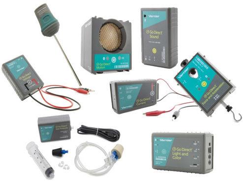 Zestaw czujników bezprzewodowych - szkoła podstawowa FIZYKA - Standard