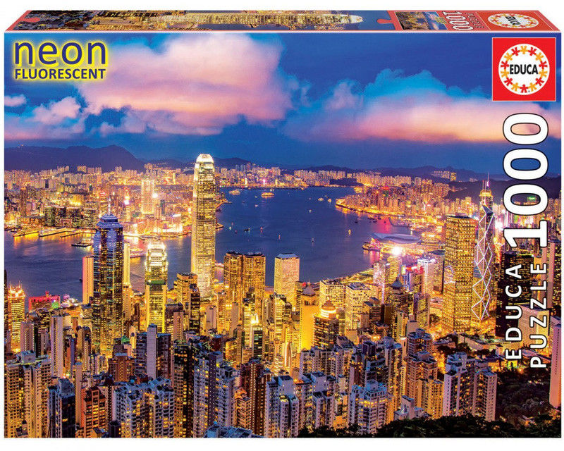 Educa Puzzle Hong Kong Skyline 1000 el. 18462