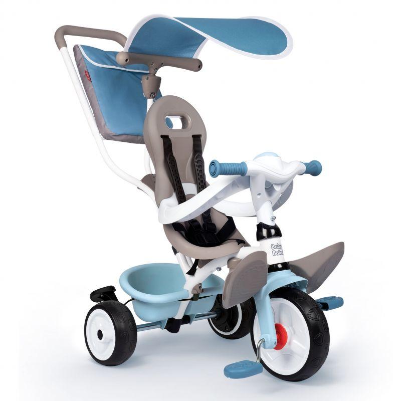 SMOBY Rowerek Trójkołowy Baby Balade plus Niebieski LK