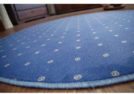 DYWAN KOŁO CHIC 178 niebieski koło 100 cm