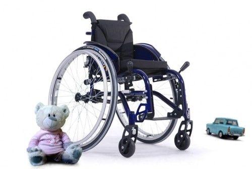 Wózek inwalidzki aluminiowy sagitta kids