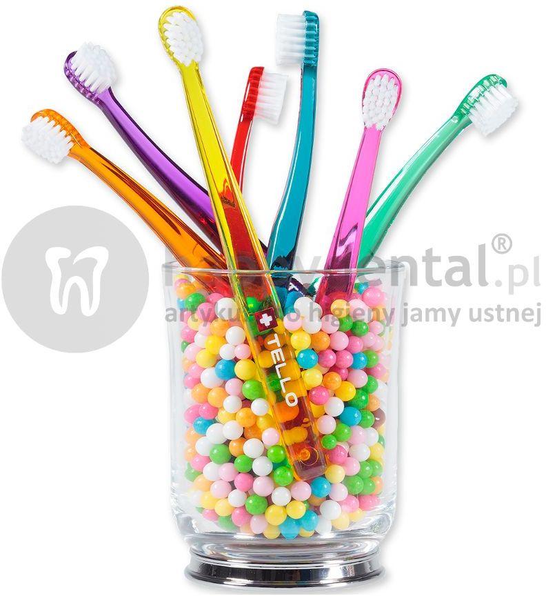 TELLO KIDS delikatna szczoteczka do zębów dla dzieci