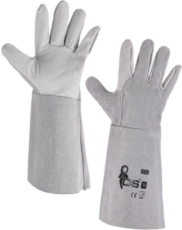 Rękawice robocze HURI spawalnicze CXS