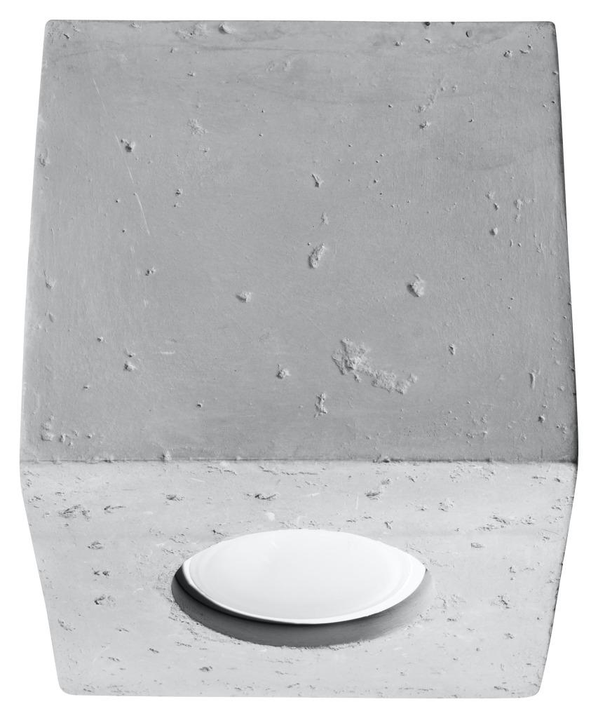 Downlight tuba Quad beton SL.0489 - Sollux Do -17% rabatu w koszyku i darmowa dostawa od 299zł !