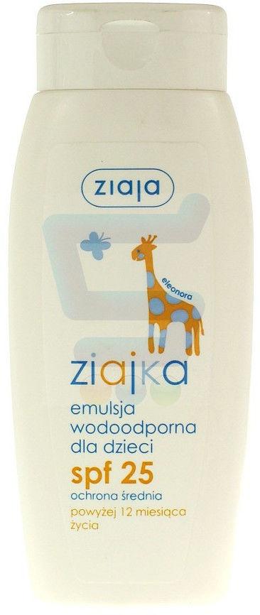 Ziaja ziajka słoneczna emulsja wodoodporna dla dzieci SPF 25 150 ml