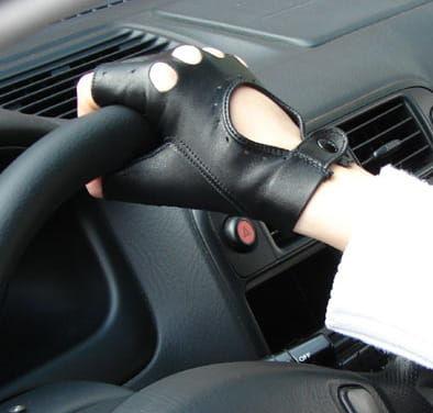 Rękawiczki bez palców, rowerowe - Całuski
