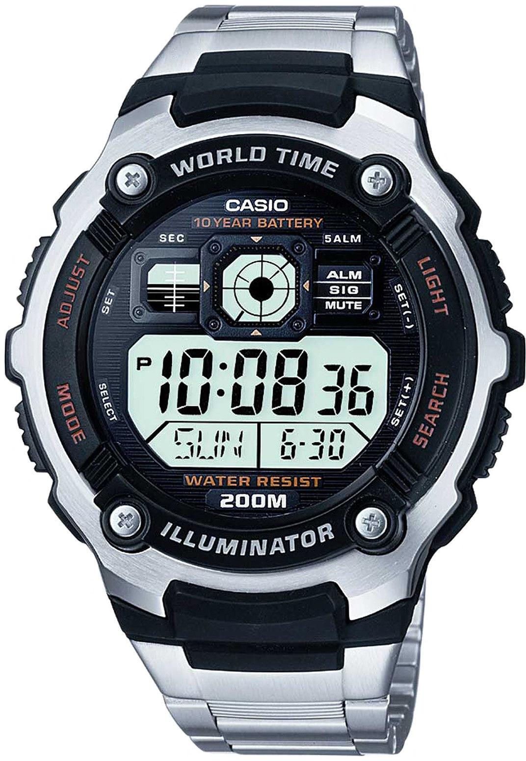 Zegarek Casio AE-2000WD-1AVEF - CENA DO NEGOCJACJI - DOSTAWA DHL GRATIS, KUPUJ BEZ RYZYKA - 100 dni na zwrot, możliwość wygrawerowania dowolnego tekstu.