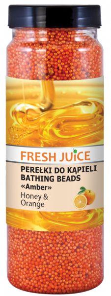 Perełki do Kąpieli Miód i Pomarańcza, Fresh Juice, 450g