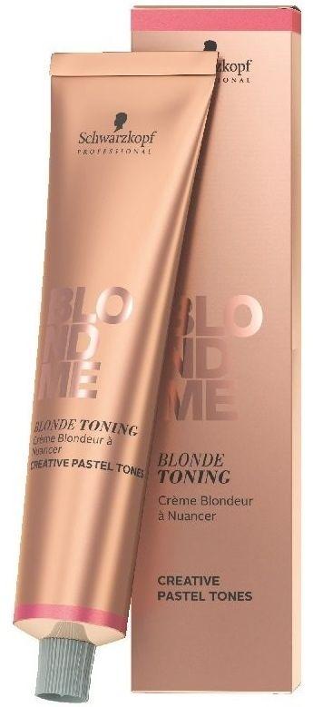 Schwarzkopf BLONDME Blonde Toning Pastelowa baza tonująca w kremie do włosów blond 60ml