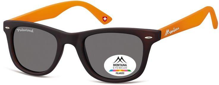 Okulary nerdy Montana MP41G orange polaryzacyjne