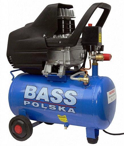 Kompresor olejowy sprężarka 50L BASS POLSKA