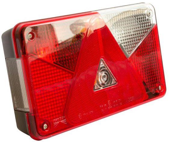 Lampa tylna zespolona do przyczep Asp ck Multipoint V prawa