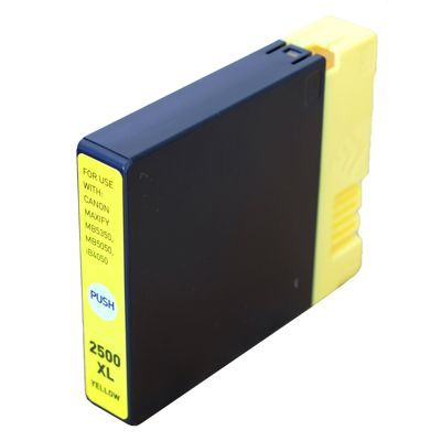 Tusz Zamiennik PGI-2500 Y do Canon (9267B001) (Żółty) - DARMOWA DOSTAWA w 24h