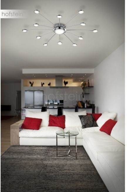 Bodrum LED lampa sufitowa 13-punktowa (z pilotem) chrom 673311306