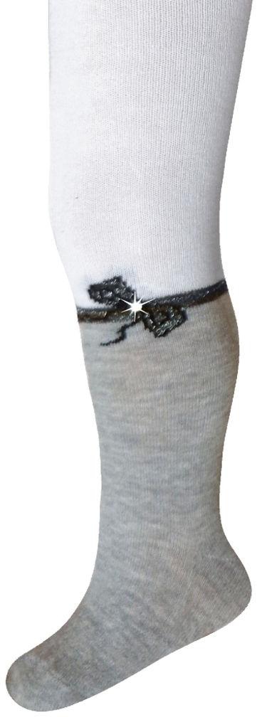 rajstopy bawełniane milusie jety eleganckie białe wzór19 Model 15