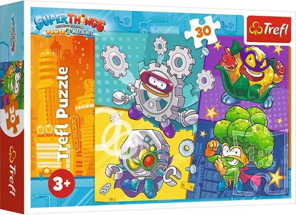 Puzzle 30 Super Things 18278 - Trefl PAP