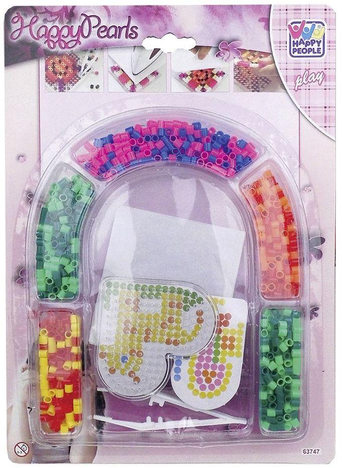 Happy People 63747 obraz płytka z koralikami z kolorowymi, wielokolorowa