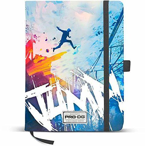 PRODG PRODG Diary 13 x 21 cm Jump uchwyt na torebkę, 21 cm, wielokolorowy (Multicolored)