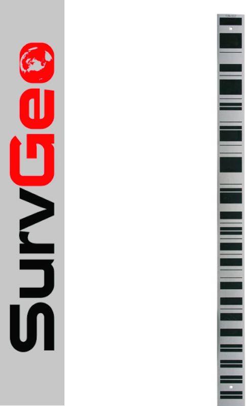 Łata kodowa do DiNi. Aluminiowa 0.50m SurvGeo