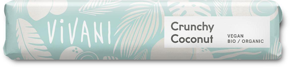 Baton kokosowy cruchy bio 35 g - vivani